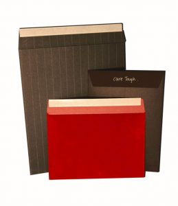Individual letter envelopes